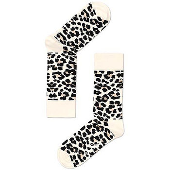 【摩達客】瑞典進口【Happy Socks】豹紋中統襪