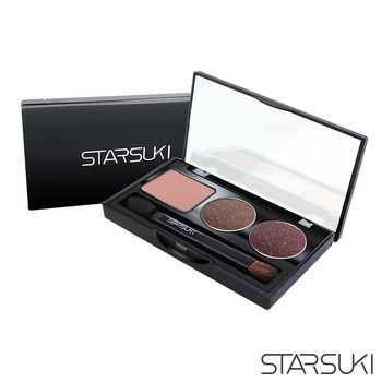 STARSUKI 放肆眼眸三色眼彩盤 (06流金礫石)