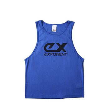 eXPONENT 吸濕排汗素面運動透氣背心(寶藍)125D0216