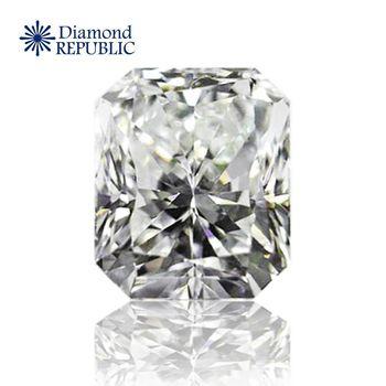 【鑽石共和國】GIA方形裸鑽 0.5 克拉 S-T / I1 帶淡褐色