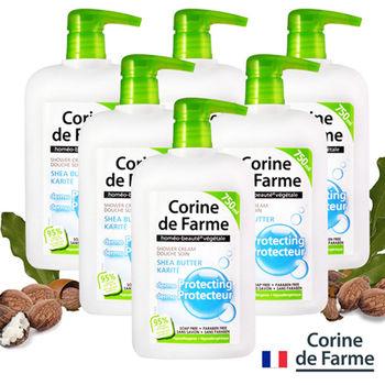 法國黎之芙乳木果油保濕護膚沐浴乳750ML六入組