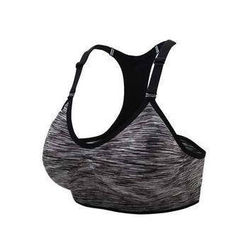 【INSTAR】細肩帶女運動內衣-運動BAR 背心 韻律 有氧 瑜珈 比基尼 黑白