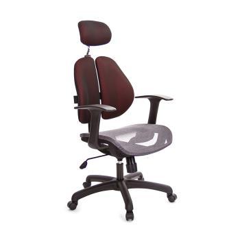 吉加吉 高背 雙背 智慧椅 TW-2996CX 記憶坐墊+多色布套