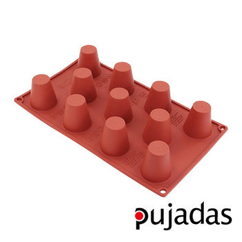 西班牙pujadas矽膠11格點心膜(圓柱型)
