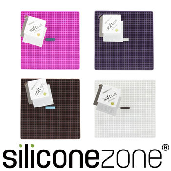 【Siliconezone】施理康耐熱兩用防燙墊防燙鍋墊-白色