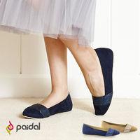 Paida氣質緞帶百搭尖頭包鞋尖頭鞋 ^#45 粉 ^#47 藍 ^#45 2色