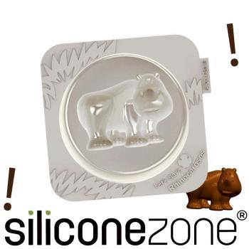 【Siliconezone】施理康耐熱犀牛造型小蛋糕模