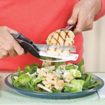 【將將好餐廚】多功能可拆切菜式砧板剪刀