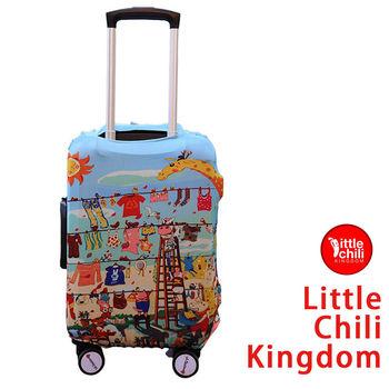 LittleChili行李箱套512-歡樂動物 M