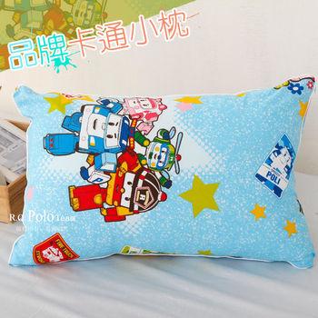 【R.Q.POLO】波力POLI 品牌卡通小童枕/兒童枕/枕頭(含枕心)
