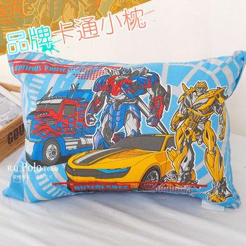 【R.Q.POLO】變型金鋼-仁者無敵 品牌卡通小童枕/兒童枕/枕頭(含枕心)