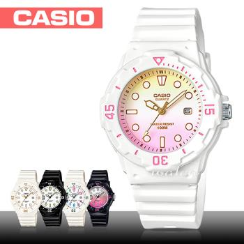 【CASIO 卡西歐】潛水風格-學生/青少年指針錶_鏡面3.4公分(LRW-200H)