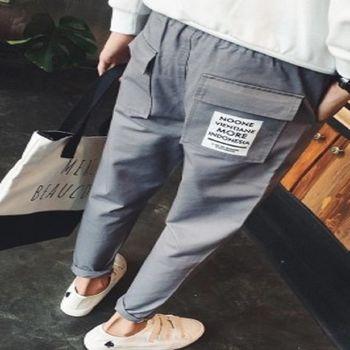 【協貿國際】抽繩設計休閒褲男士迷彩撞色哈倫小腳褲單件