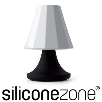 【Siliconezone】可愛檯燈胡椒鹽罐-黑白
