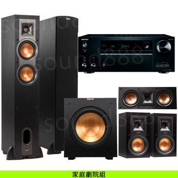 劇院喇叭組 ONKYO TX-NR656 7.2聲道影音擴大機+Klipsch R-26F+R-25C+R-15M+R-10SW