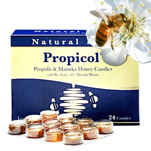 澳洲Natural Life活性麥蘆卡蜂蜜蜂膠潤喉糖(24顆)