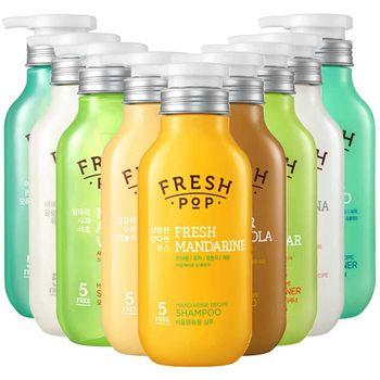 李聖經代言 韓國 FRESH POP 果汁洗髮精/潤髮乳(500ml)x2入