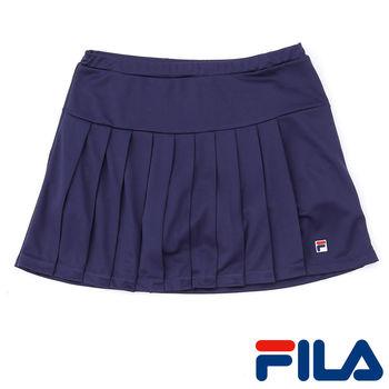 FILA女性吸濕排汗抗UV短裙(學院藍)5SKP-5011-DB   3M吸濕排汗助劑