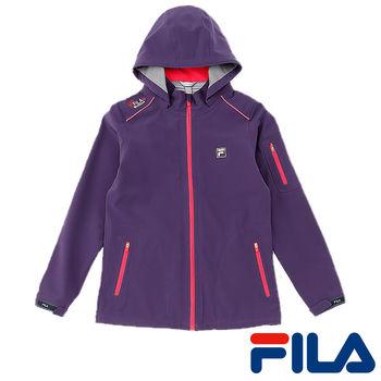FILA女性防水透濕高機能外套(優雅紫)5JKP-5110-DP  超潑水性與防霧氣