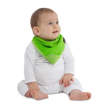 【Mum 2 Mum】機能型神奇三角口水巾咬咬兜-萊姆綠