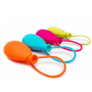 創意彩色氣球鑰匙套/ 耳機包