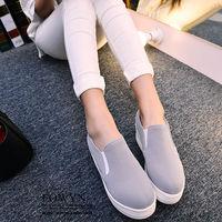 EOWYN.透氣舒適平底休閒鞋 優雅厚底懶人鞋女包鞋樂福鞋EMD05670 ^#45 67