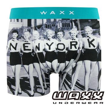 《WAXX》紐約女郎運動快乾型男內褲