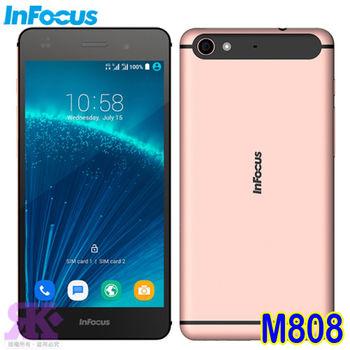 Infocus M808 32G 八核5.2吋 雙卡智慧手機 -送專用皮套+9H鋼化玻璃保貼+手機/平板支架
