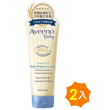 艾惟諾Aveeno 嬰兒燕麥保濕乳227g×2入