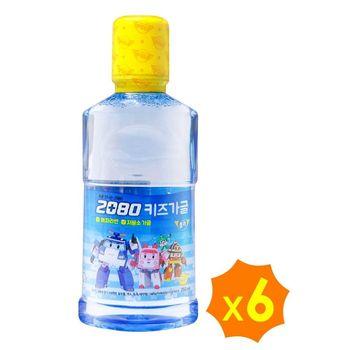 韓國2080波力兒童漱口水(香蕉口味)250ml×6入