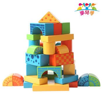 【樂兒學】百變創意88顆益智木製學習積木