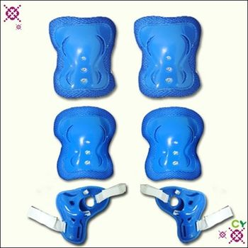 【潮流運動】兒童護具組(藍色)