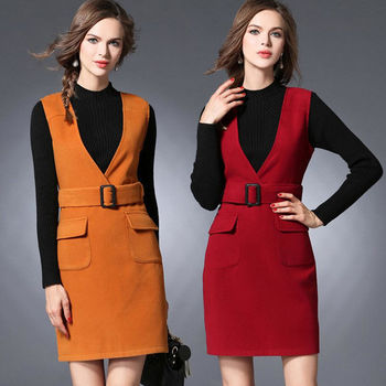 【麗質達人中大碼】背心式洋裝(XL-5XL)