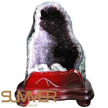 【SUMMER寶石】巴西3A級天然紫晶洞《10.3kg》(720-14)
