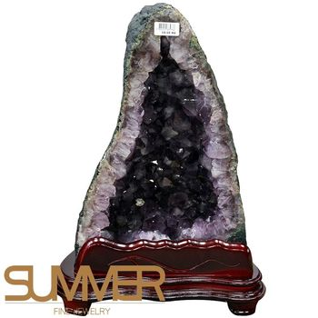 【SUMMER寶石】巴西3A級天然紫晶洞《14.1kg》(719-03)