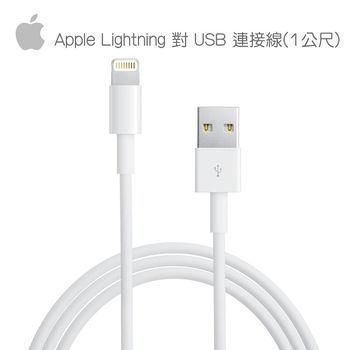 【Apple】原廠 8 Pin Lightning 對 USB 充電線 連接線 (裸裝)【2入】