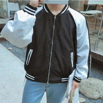 【協貿國際】棒球服男士韓版休閒夾克衫單件