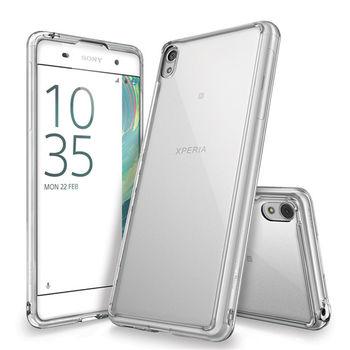 Rearth Sony Xperia XA (Ringke Fusion)高質感保護殼