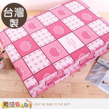 魔法Baby~台灣製單人3x6尺雙面布透氣床墊~u2324
