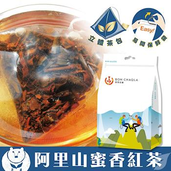 《台灣茶人》阿里山蜜香紅茶3角立體茶包(天然蜜香18包/袋)