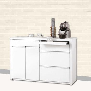 【時尚屋】[C6]卡洛琳4尺餐櫃C6-408-4
