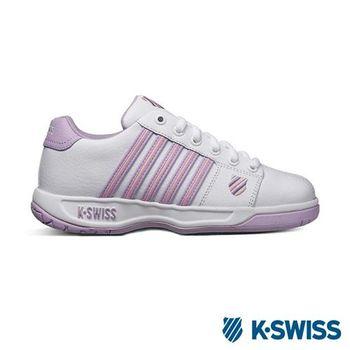 K-Swiss Eadall休閒運動鞋-女-白/淺粉/淺紫