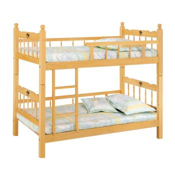 Bernice-傑斯3尺雙層床架(全欄型)