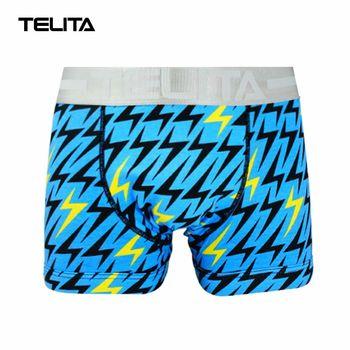 TELITA-男性內褲 閃電印花平口褲