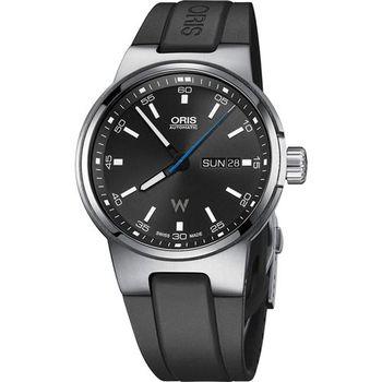 Oris Willimas F1賽車系列日曆星期機械錶-黑/42mm 0173577164154-0742450