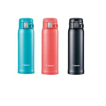 象印【SM-SC48】480ml 彈蓋超輕量不銹鋼真空保溫瓶/保溫杯