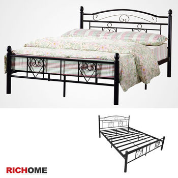 RICHOME HOME浪漫滿屋5尺雙人床