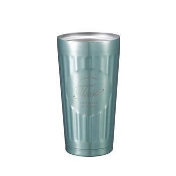 日本 CB Japan 巴黎系列不銹鋼雙層保溫保冷杯375ml - 冷冽藍