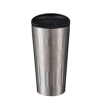 日本 CB Japan Qahwa第三波聞香隨行咖啡專用保冷保溫杯 - 酷炫銀