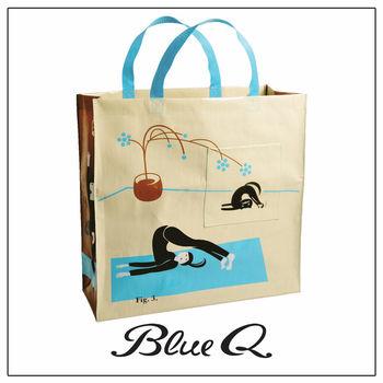 Blue Q 大購物袋 - Yoga 瑜珈 (雙背帶款)